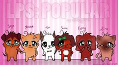 This is LPS:Popular.... It's made, edited, and filmed by SophieGTv on YT but this is a drawing of LPS:Popular and it wasn't made by SophieGTv!