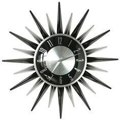 George Nelson Asterisk clock, 1950's