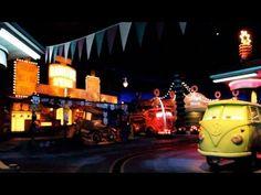 Radiator Springs Racers POV (Full Ride) Night Time Cars Land Disney California Adventure Disneyland - YouTube