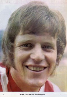 July Southampton striker Mike Channon, pictured at the Dell. Southampton Football, South Hampton, Retro Football, 1970s, Club, Beautiful