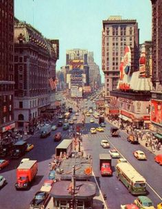 Old Time Square, New York