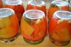 Перец болгарский (сладкий) консервированный, салатный