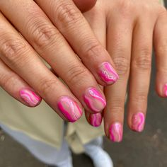 Nail Inspo, Claws, Nail Designs, Barbie, Nail Art, Candy, Colours, Nails, Pink