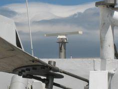 Detalle del Ferry que cruza el Estrecho de Gibraltar.