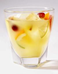 Malibu Rum & Pineapple Juice!