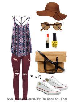 Y. A. Q. - Blog de moda, inspiración y tendencias: [Y ahora qué me pongo con] Un top con estampado con muchos colores