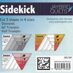 Sidekick Ruler by Jaybird Quilts - Heirloom Creations
