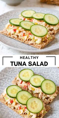 Healthy tuna salad is a classic lunchtime recipe, and it takes a mere 10 minutes to make! This version is dressed up with roasted peppers and pepperoncini. 176 calories and 3 Weight Watchers SP | Sandwich | Low Fat | Recipes lunch #healthytunasalad #tunasalad #weightwatchers #healthylunch Top Recipes, Side Dish Recipes, Snack Recipes, Lunch Ideas, Meal Ideas, Dinner Ideas, Easy Weekday Meals, Make Ahead Meals, Healthy Tuna Salad