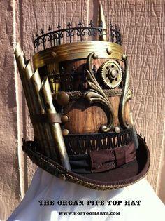 8 impressive steampunk top hats 81bae595781c