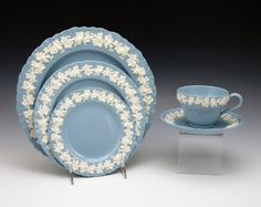 Wedgwood Blue china.  Wedding not necessary.