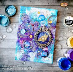 Mixed Media Place: June challenge