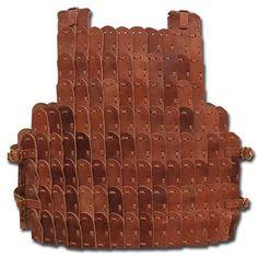 12oz to 14oz Leather Lamellar Armor Kit by ScrapWorksArmory, $170.00