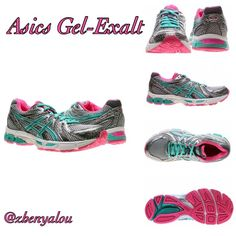 Asics Women's 6.5 Gel-Exalt New with box. For mild to overpronator. Color is lightning/emerald/hot pink. Box will not be shipped!   No unnecessary comments about price is needed. Keep in mind posh takes out a percentage. If you don't like the price, buy it elsewhere.   Selling only through Posh asics Shoes Athletic Shoes