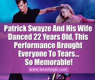 Patrick Swayze And His Wife Danced 22 Years Old, This Performance Brought Everyone To Tears...So Memorable!