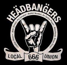 HEADBANGERS-UNION-LOCAL-666-SHIRT-heavy-metal-L-K-MED-new