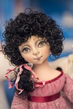 Beautiful fabric doll | Купить Кукла Софья - бледно-розовый, Будуарная кукла, кукла ручной работы, кукла