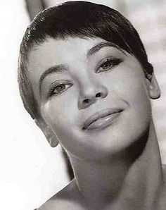 asymmetrical hair styles 1000 images about leslie caron on gene 7243