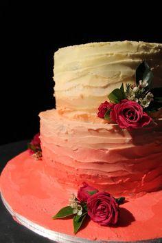 Ombre Wedding Cake Tutorial