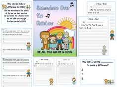 The Lightbulb Lab: Over the Rainbow.  A new Character Trait Unit using the Wizard of Oz characters.  Check it out...
