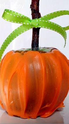 How To Make Pumpkin Caramel Apples