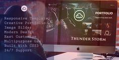 ThunderStorm - Creative HTML5 Template - Creative Site Templates