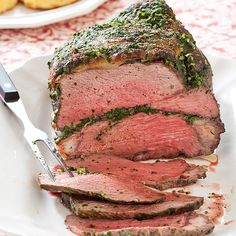 Herbed Roast Beef Recipe - Cook's Country. I made this last night and it was a HOME RUN! Important steps to make a tasty roast beef!