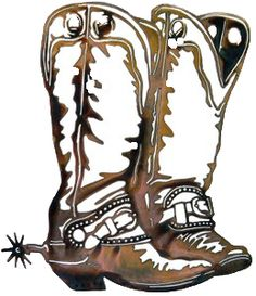 Cowboy Boots 259x300 Clear
