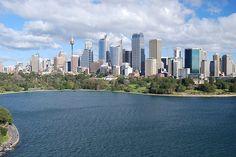 i skylines sydney australia Sydney Australia, Best Cities, Study Abroad, Bridges, New York Skyline, Buildings, Road Trip, Favorite Things, Destinations