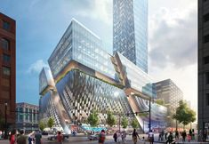 Gallery of SHoP Unveils Plans for Detroit's Tallest Tower on Historic Downtown Site - 1