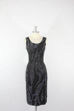 Vintage 1950s Dress  Gene Shelly's Heavily by VintageFrocksOfFancy, $260.00