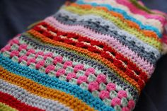 Ravelry: Project Gallery for Spice of Life Blanket pattern by Sandra Paul