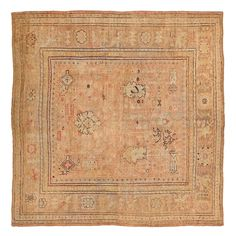 Antique Ghiordes Rug @abccarpet