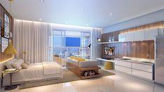 Resultado de imagem para imagens de apartamentos studio