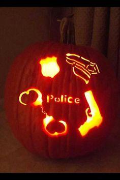 Police pumpkin