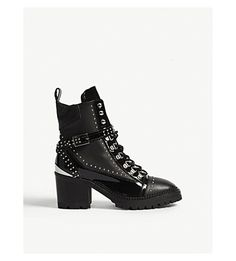 THE KOOPLES | Studded leather boots #Womens #Boots #Ankle boots #Heel #THE KOOPLES