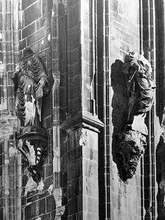 1943 Agosto Duomo di Milano Bombardato 5 | da Milàn l'era inscì