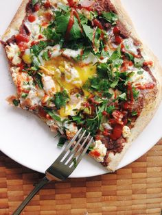 I know pizza for breakfast might not appeal to everyone but trust me, give this one a chance. It is amazing. It is so good that even my sweet-breakfast, waffle-loving husband requests it whenever w...