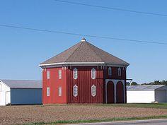 OH Bryan - Octagonal Barn
