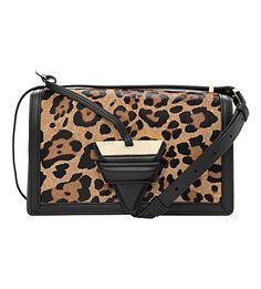 011dccf4e154 LOEWE Barcelona Leopard-Print Leather Shoulder Bag.  loewe  bags  shoulder  bags