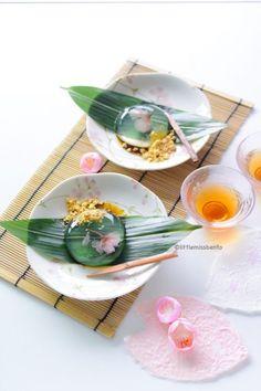 この時期おすすめ。美しい「さくら水信玄餅」のレシピ - macaroni
