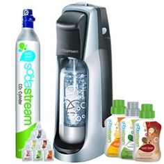 "The Not-So-Secret Confessions of a Second Time Mom: SodaStream Review!    ""I really enjoy the SodaStream! It's so easy to make and it's nice to be able to decide how much fizz you want in your soda! We have tried a few flavors and the cola and root beer are my favorites!"""
