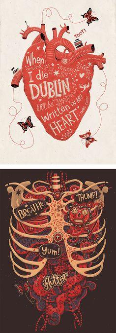 Illustrations by Steve Simpson | Inspiration Grid | Design Inspiration