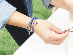Blue INKA | convertible necklace-bracelet