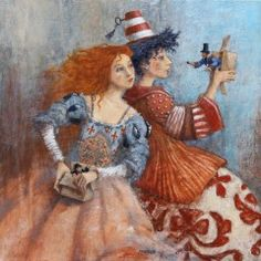 Modern Surrealism, Surrealism Painting, Quirky Art, Whimsical Art, Illustrations, Illustration Art, Art Fantaisiste, Magic Realism, Art Original