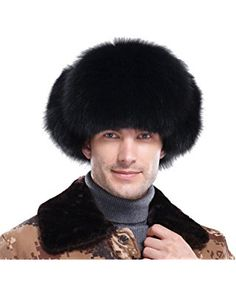Brand: URSFUR Genuine Fox Fur trim silky fluffy fur Authentic Leather exterior and ties on ear flaps Front brim is secured with snap button closure Adjustable straps with metal buckles,putting earflaps at the top or under the chin Trapper Hat Womens, Trapper Hats, Hat For Man, Hat Men, Fur Accessories, News Boy Hat, Winter Hats For Women, Hats Online, Outfits With Hats