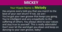What Is Your Hippie Name?