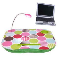 Práctica mesa portátil multiusos. Modelo Circles.  http://www.cosaspararegalar.es/ideas-para-regalar/regalos-practicos/mesas-tablet/mesa-pc-circles.html