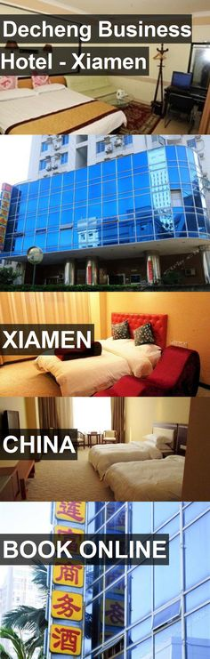 Decheng Business Hotel - Xiamen in Xiamen, China. For more information, photos, reviews and best prices please follow the link. #China #Xiamen #travel #vacation #hotel