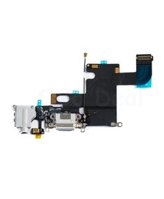 Apple iPhone 6 Charging Dock Connector and Headphone Jack Flex Cable Replacement, High Quality, Light Gray  #iphone6 #parts #wholesale @ http://www.ogodeal.com/apple-parts/iphone-parts/iphone-6-parts.html