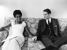 Nina Simone & her first husband Don Ross Simone married...
